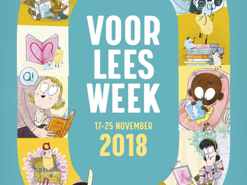 Voorleesweek in de bibliotheek van 17 tot 25 november