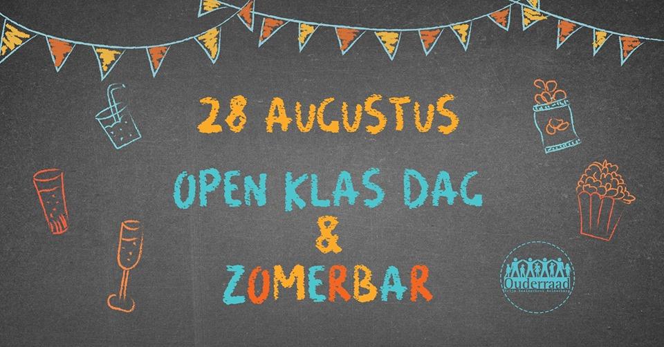 Openklasdag woensdag 28 augustus 2019